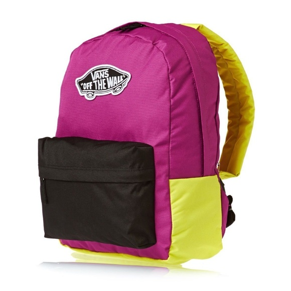 7f31c021841 Vans Bags | New Otw Multicolor Laptop Bookbag | Poshmark